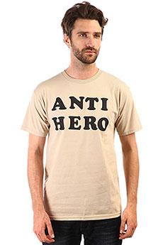 Футболка Antihero Logo 2 Beige