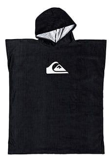 Пончо детское QUIKSILVER Hoody Towel Black