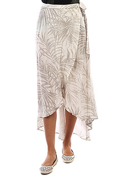 Юбка женская Rip Curl Shorelines Wrap Skirt 3 Off White
