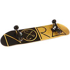 Скейтборд в сборе Nord Classic Yellow 31.75 x 8 (20.3 см)