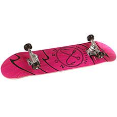 Скейтборд в сборе Nord Лого Pink 32 x 8.25 (21 см)