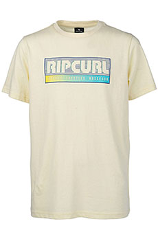 Футболка Rip Curl Slantbig Pale Yellow