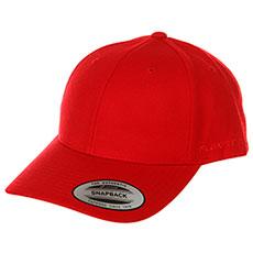 Бейсболка классическая Yupoong 6789m Red