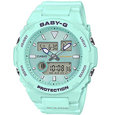 Электронные часы Casio Baby-g bax-100-3aer Light Blue