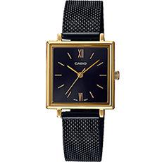 Кварцевые часы Casio Collection Ltp-e155mgb-1bef Black/Gold
