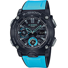 Электронные часы Casio G-Shock Ga-2000-1a2er Light Blue/Black