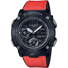 Электронные часы Casio G-Shock Ga-2000e-4er Red/Black