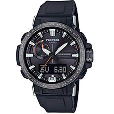 Кварцевые часы Casio Sport prw-60y-1aer Black
