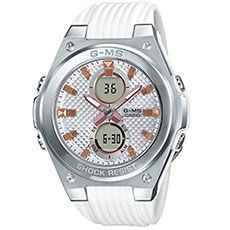Кварцевые часы Casio Baby-g msg-c100-7aer Grey/White
