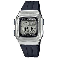 Электронные часы Casio Collection f-201wam-7avef Grey/Black