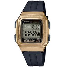 Электронные часы Casio Collection f-201wam-9avef Gold/Black