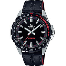Кварцевые часы Casio Edifice efv-120bl-1avuef Black