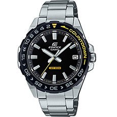 Кварцевые часы Casio Edifice efv-120db-1avuef Black/Grey