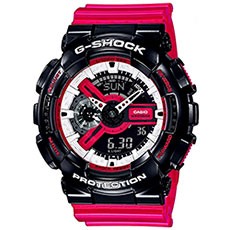 Кварцевые часы Casio G-Shock ga-110rb-1aer Black/Pink