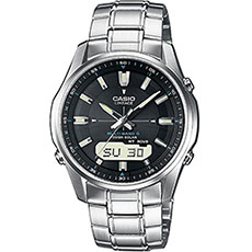 Кварцевые часы Casio Wave Ceptor lcw-m100dse-1a Grey