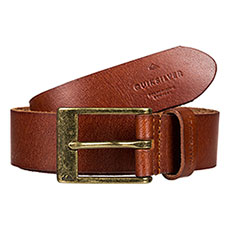Ремень QUIKSILVER Slimpremlthrblt Chocolate Brown