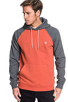 Толстовка кенгуру QUIKSILVER Everydayhood Burnt Brick