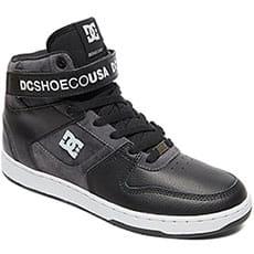 Кеды высокие DC Shoes Pensford Se Black/Grey/Red