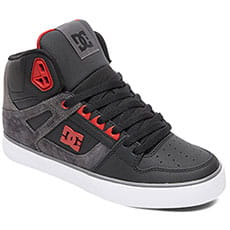 Кеды высокие DC Shoes Pure Ht Wc Se Black/Red