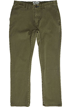 Штаны прямые Billabong New Order Chino Gravel
