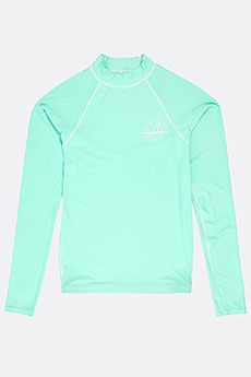 Гидрофутболка Billabong Logo Ls Teens Beach Glass