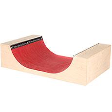 Фигура для фингерпарка Turbo-FB мини рампа M Red