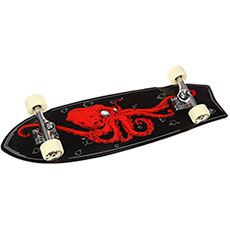 Скейт круизер Skate Designs Octopus Swallow Tail Black 9.25 x 33 (84 см)