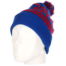 Шапка Spitfire Spunout beanie Blue/Red