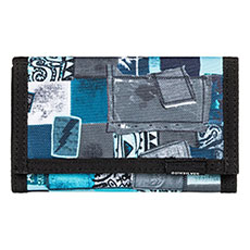 Кошелек QUIKSILVER Thee daily th Blue Atoll