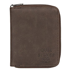 Кошелек QUIKSILVER Falcor Chocolate Brown