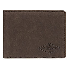Кошелек QUIKSILVER Slim Vintageiii Chocolate Brown