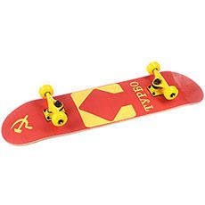 Скейтборд в сборе Turbo-FB СССР Red/Yellow 31.5 x 8 (20.3 см)