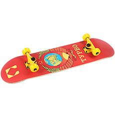 Скейтборд в сборе Turbo-FB Flag Red 31.5 x 8 (20.3 см)
