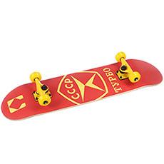 Скейтборд в сборе Turbo-FB ГОСТ Red 31.5 x 8 (20.3 см)