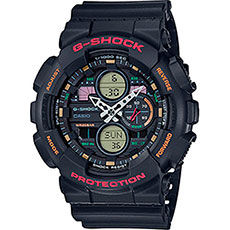 Кварцевые часы Casio G-Shock Ga-140-1a4er Black