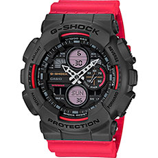 Кварцевые часы Casio G-Shock Ga-140-4aer Black/Red