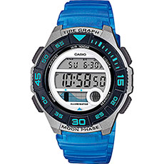 Электронные часы Casio Collection Lws-1100h-2avef Grey/Blue