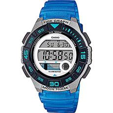 Электронные часы Casio Collection Lws-1100h-2avef Grey/Blue
