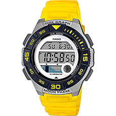 Электронные часы Casio Collection Lws-1100h-9avef Grey/Yellow