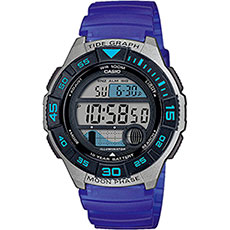 Электронные часы Casio Collection Ws-1100h-2avef Grey/Blue