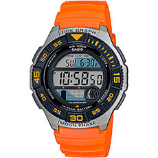 Электронные часы Casio Collection Ws-1100h-4avef Grey/Orange