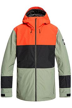Куртка утепленная QUIKSILVER Sycamore Jk Agave Green