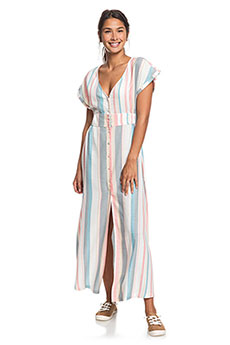 Платье Roxy Furorlagoonstrp Snow White Retro Ver
