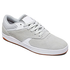 Кеды низкие DC Shoes Tiago Grey/White