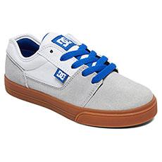 Кеды низкие детские DC Shoes Tonik Grey/White/Blue