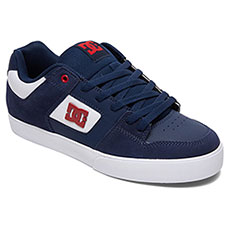 Кеды низкие детские DC Shoes Pure Se Navy/Red