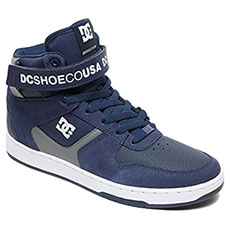 Кеды высокие DC Shoes Pensford Navy/Grey