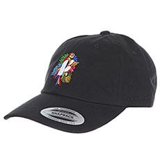 Бейсболка классическая Footwork Parrot Dad Cap Black