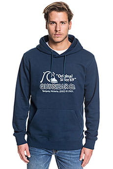 Толстовка кенгуру QUIKSILVER Nelsonsunfleece Moonlit Ocean