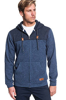 Толстовка классическая QUIKSILVER Kellerblckzip Blue Nights Heather